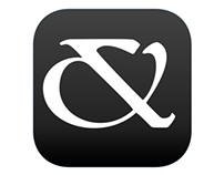 Ampersand iOS Icon & Grid