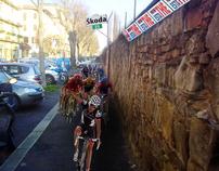 Mini tappa del Giro D'Italia.