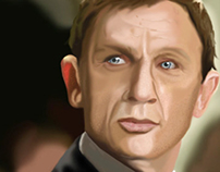 Portrait of Daniel Craig