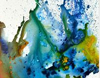 Painting Blue Spirit