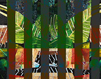 Abstract Collage Banners
