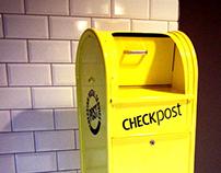 Handmade Mailbox- CheckPost