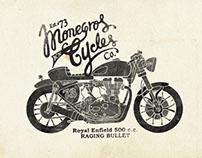 Monegros Cycles Branding