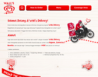 PSD2HTML : Wall's Delivery (2013)