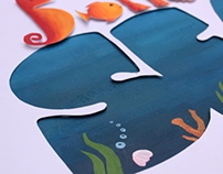 Bottom Sea- Title Design for children
