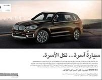 7-Seater BMW X5 ad