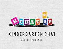 Kindergarten Chat Asia Pacific - logo design