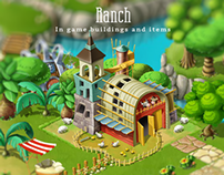 Ranch: In game buildings and items