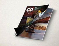 GO Magazine ( university project )