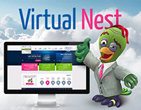 Virtual Nest (Bezeq Int) website