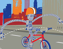 Bike Cleveland posters