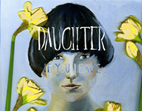 CD cover for Daughter. University project.