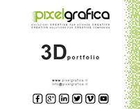 3D Graphic Portfolio - Pixelgrafica