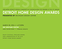Detroit Home Design Awards 2014