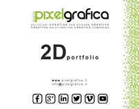 2D Graphic Portfolio - Pixelgrafica