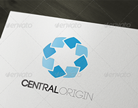 CentralOrigin Logo Template
