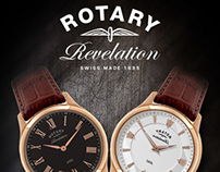 Rotary Dergi İlanı // Rotary Watches - Advertisement