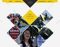 Freestyle jetski web design
