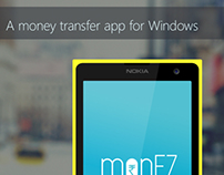 monEZ -A money transfer app for Windows phone
