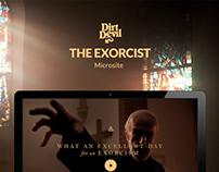 """Microsite - Dirt Devil """"The Exorcist"""""""