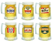 Rótulos para canecas de cerveja