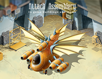 Attack Assemblery: In game buildings and items