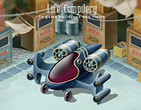 Life Compilery: In game buildings and items