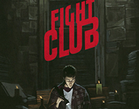 FIGHT CLUB movie fan poster.