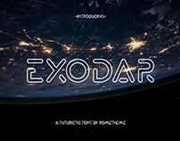 EXODAR - Sans Serif - FREE FONT
