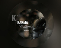 KARMA - Exclusive Gloves Collection website layout