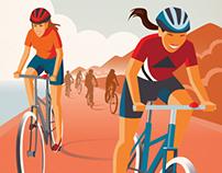 ADA TdC Women's Series Branding Campaign