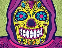 Los Amos Del Universo: Skeletor Sugar Skull