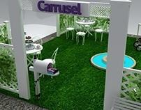 Salón de té para Carrusel