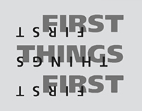 First Things First 2000