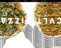 Cvlt Pizza Website