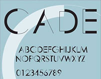 Cade: personal typeface