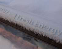 Fresh Energy Snow Stamping Campaign