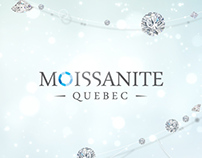 Moissanite Quebec - Branding | Website