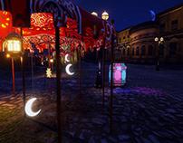 TechTive Ramadan Karem Opener using logo