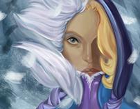 Crystal Maiden Digital Painting
