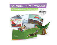 Animals in my World pop up books