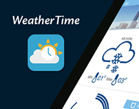 WeatherTime - Weather and Time App Concept