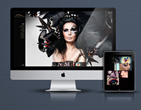 Unique creative website design