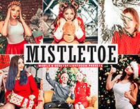 Free Mistletoe Mobile & Desktop Lightroom Presets