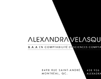Branding - Alexandra Velasquez