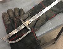 Hand Forged Cutlass