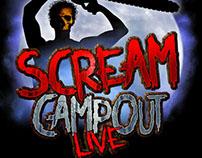 Scream Campout Live Logo