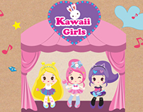 Kawaii Girls & Package Design