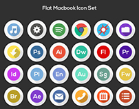 Free Macbook Icon Set