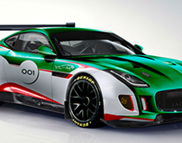 Jaguar F-Type GT3 imagined